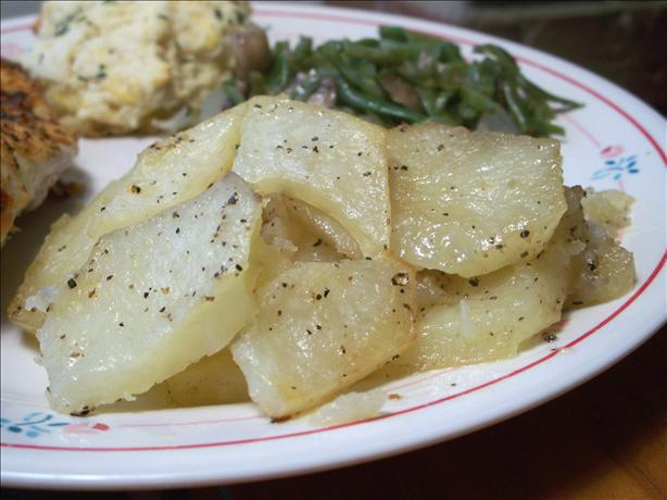 Baked Buttery Potato Slices