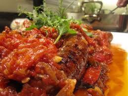 Italian Sausage in Tomato Ragu
