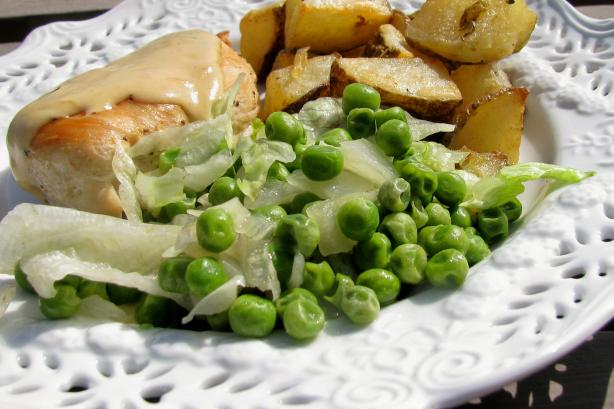 Peas on Its French (Petits Pois a La Francaise)