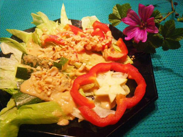 Indonesia Inspired Salad Dressing