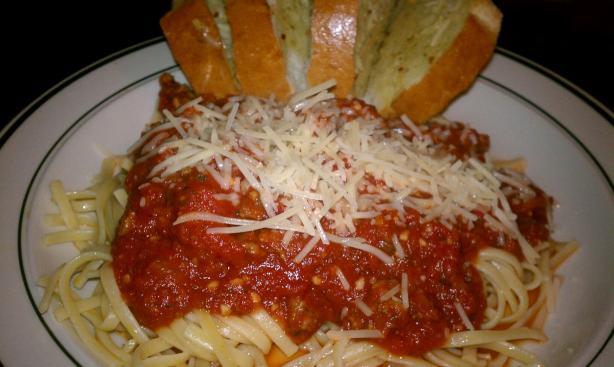 Easy Spaghetti Meat Sauce