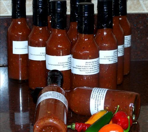 Atomic Hot Sauce!