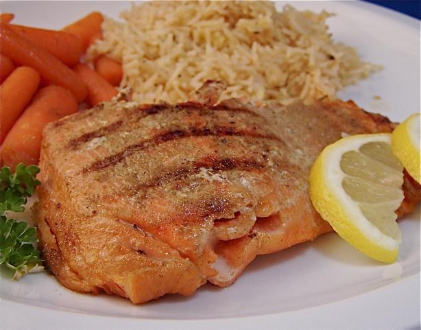 Cumin Dry Rub Salmon