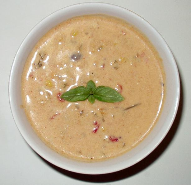 Peruvian Cream of Chicken Soup