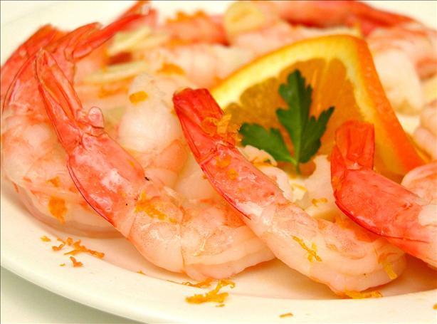 Orange Garlic Shrimp