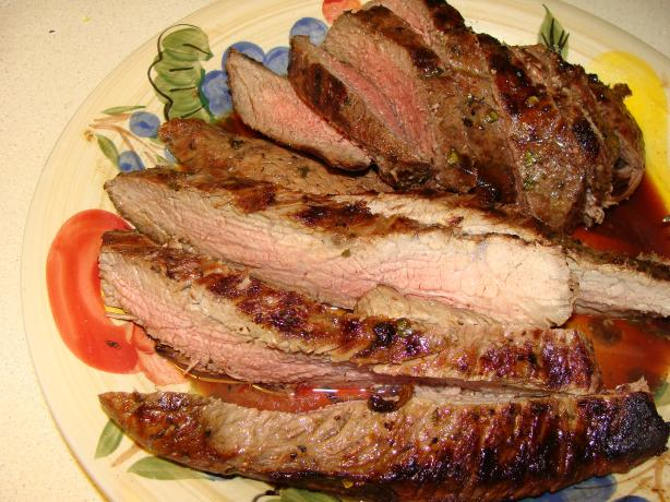 Grilled Tri-Tip Roast With Tequila Marinade