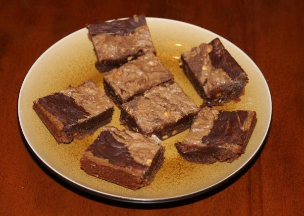 The Cake Mix Doctor - Peanut Butter Brownies