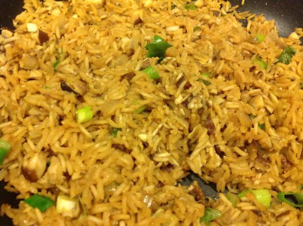 Mushroom and Lavender Rice Pilaf (Vegan)