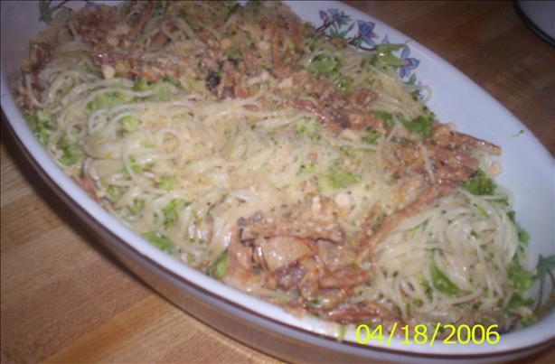 Rajun' Cajun Ham & Broccoli Alfredo