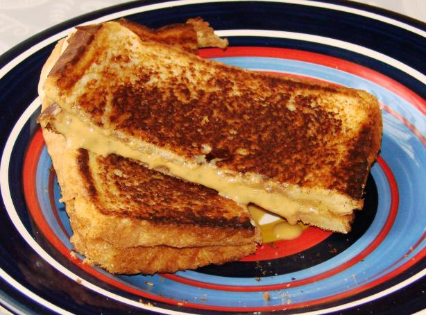 Grilled Peanut Butter Sandwiches