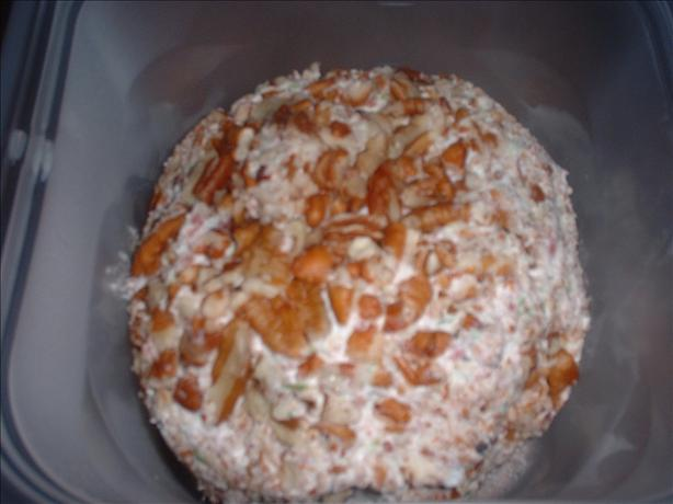 Krissy's Famous Dried Beef Cheese Ball or Log