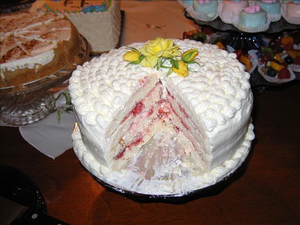 Diabetic Spring Fling Layered White Cake