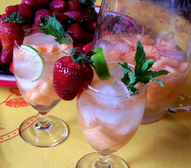 White Melon Sangria
