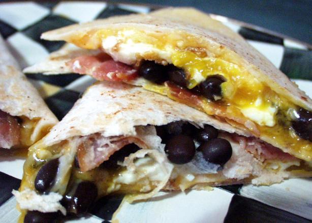 Bacon and Egg Quesadillas