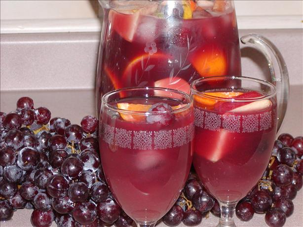 Fruity Sangria With a Kick