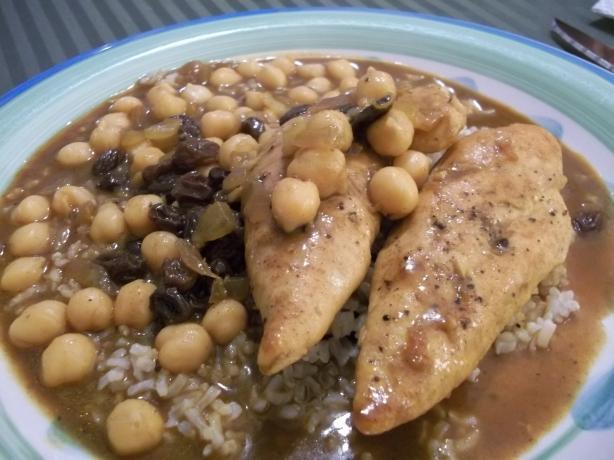 Mediterranean Chicken & Chickpeas