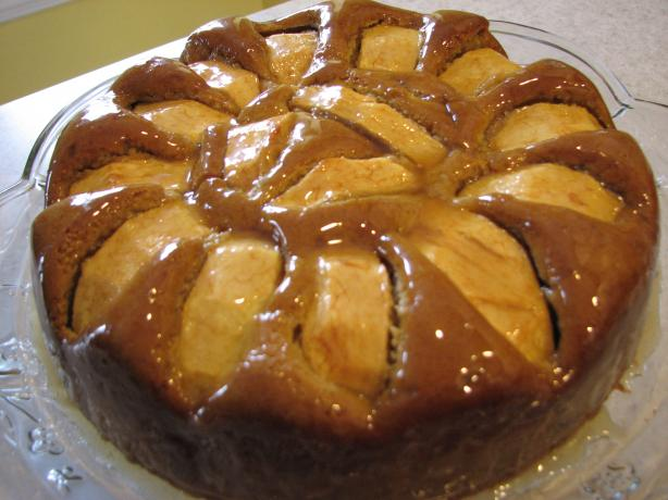 Pear and Ginger Cake With a Maple Glaze from New Zealand