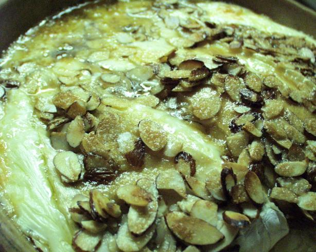 Brie With Brown Sugar and Almonds