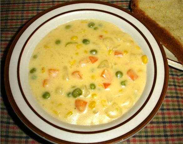Cream of Potato and Vegetable Soup