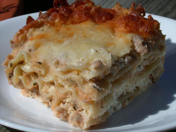 Italian White Lasagna
