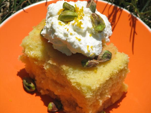 Revani (Greek Cake using Semolina)