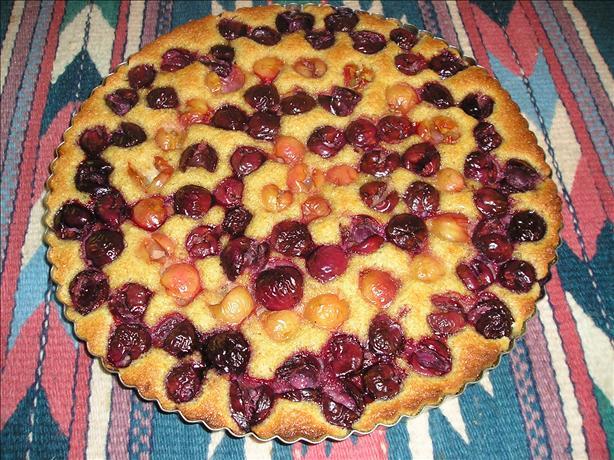 Sweet Cherry & Almond Tart