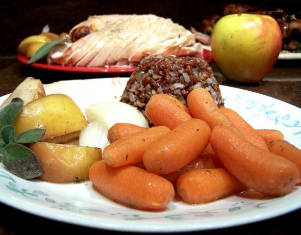 Apple Cider Glazed Carrots