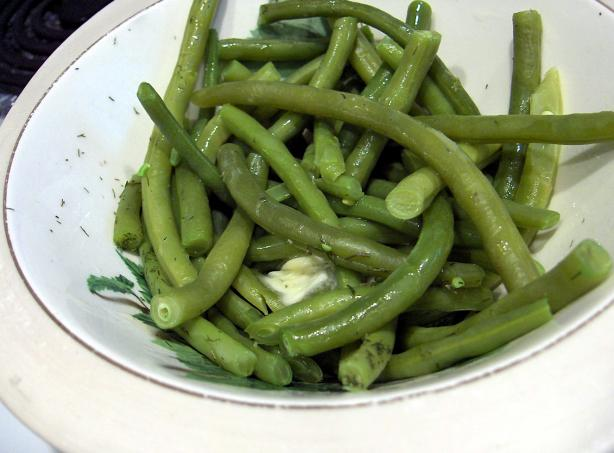 Green Beans with Fresh Dill