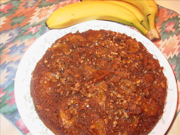 Banana-walnut Upside-down Cake