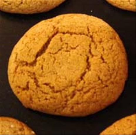 Sugar Coated Molasses Cookies