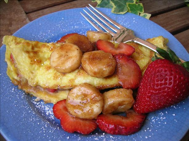 Strawberry Banana Omelet