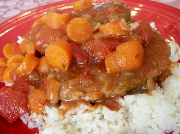 Swiss Steak for Two (Crock Pot)