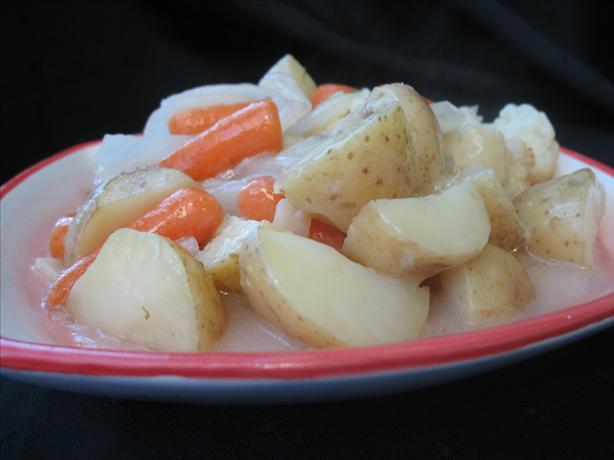 Seasoned Roast Vegetables