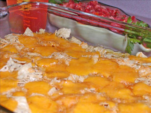 Layered chicken Casserole