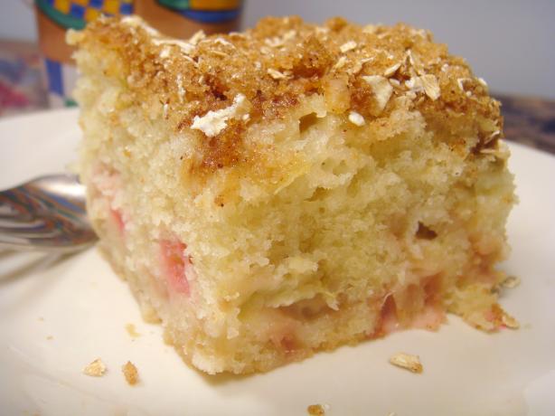 Rosa's Rhubarb Cake