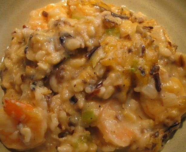 Shrimp and Wild Rice Casserole