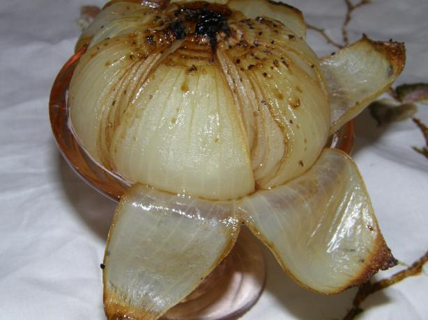 Roasted Onion Wedges