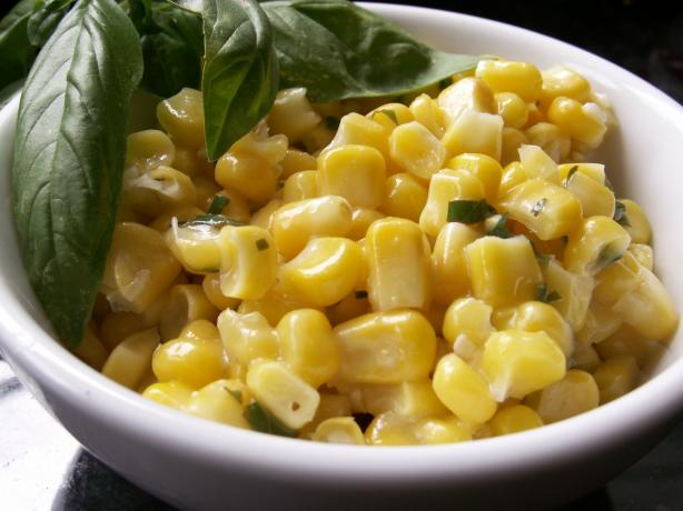 Basil Lime Butter for Corn on the Cob