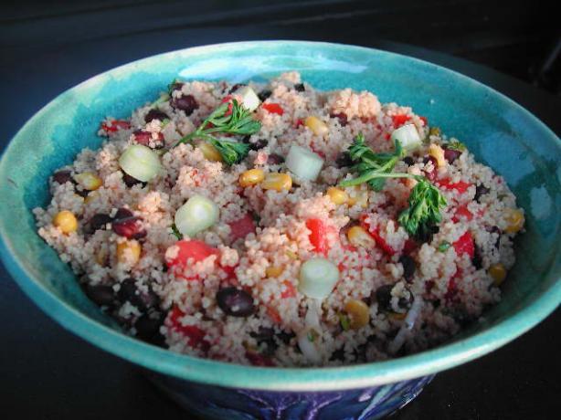 Couscous Corn and Black Bean Salad