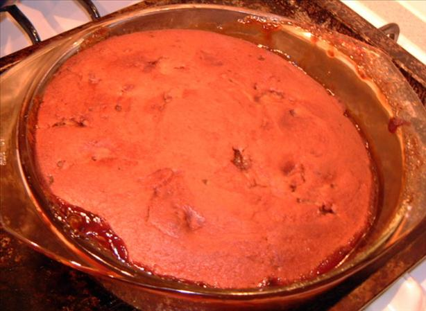 Pecan & Butterscotch Self Saucing Pudding