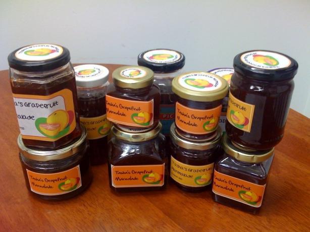 Grapefruit and Grenadine Marmalade