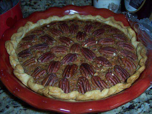 Pecan Pie With Kahlua and Chocolate Chips
