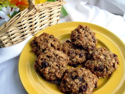 Egg Free Oatmeal Cookies