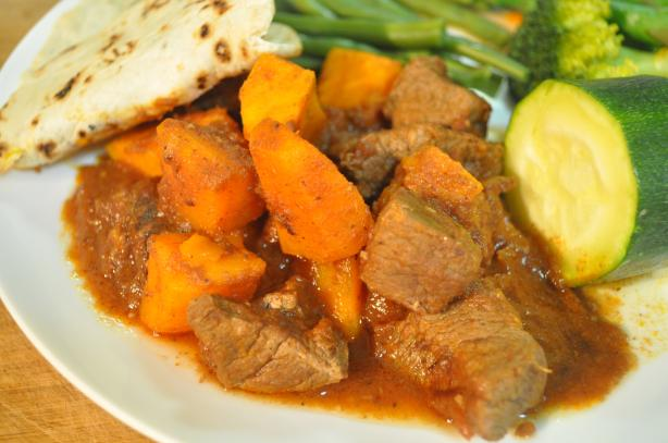Slow-Cooked Asian Beef With Sweet Potato