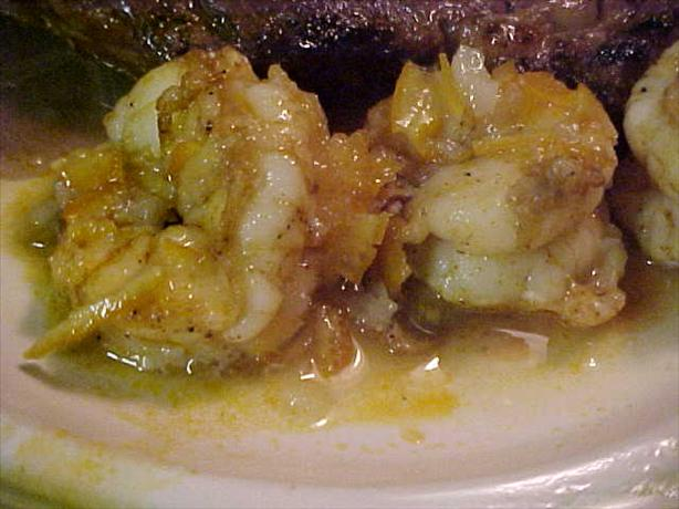 Jumbo Shrimp With Sweet-And-Sour Sauce