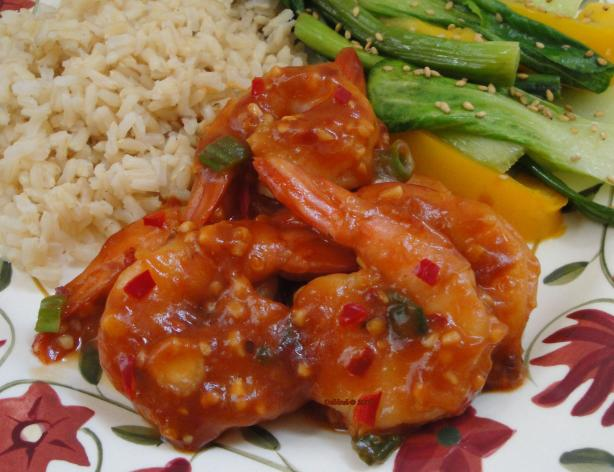 Chilli Honey and Garlic Prawns