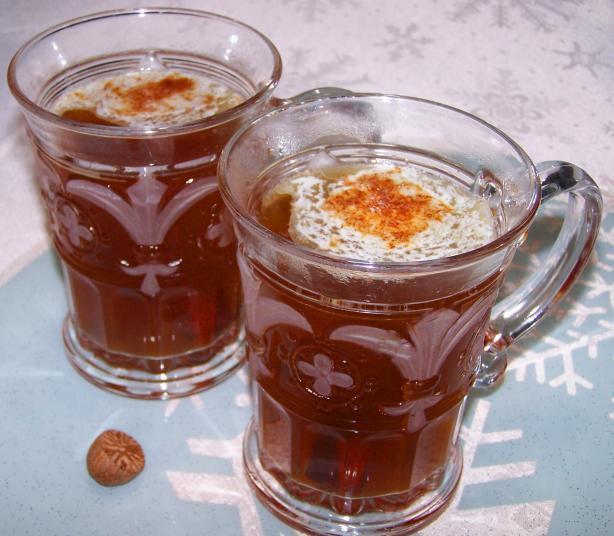 Hot Buttered Bourbon (With Nutmeg Butter)