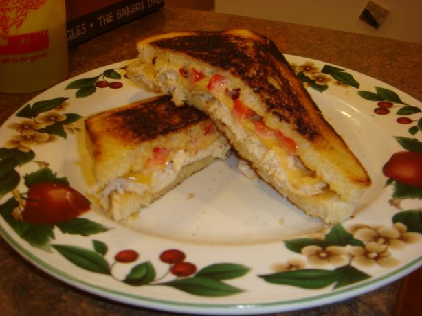 Southwestern Chicken Panini With Lime Chipotle Mayonnaise