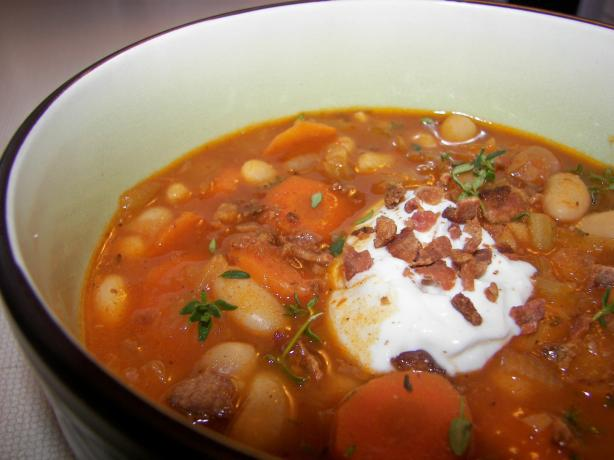 Red Bean and Bacon Soup