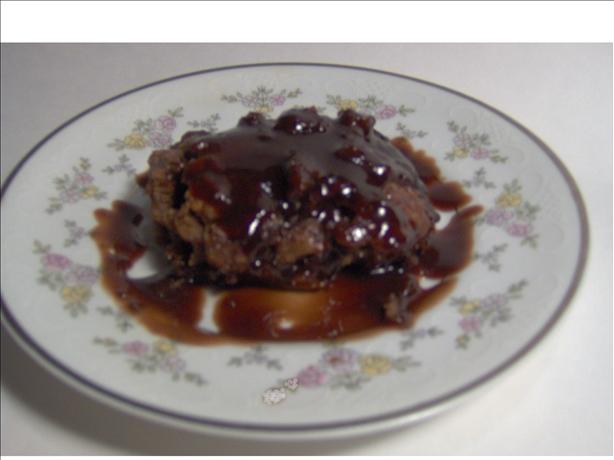 Almond Chocolate Pudding Cake